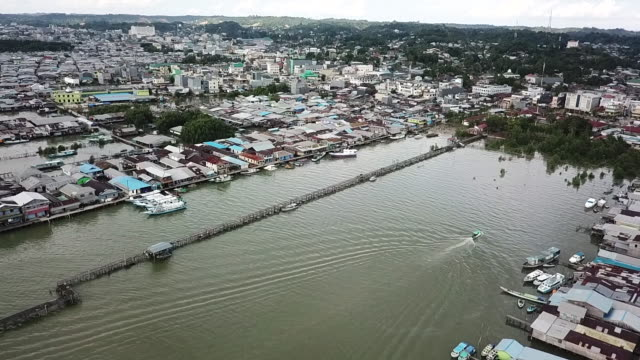 Port Tarakan, Borneo.