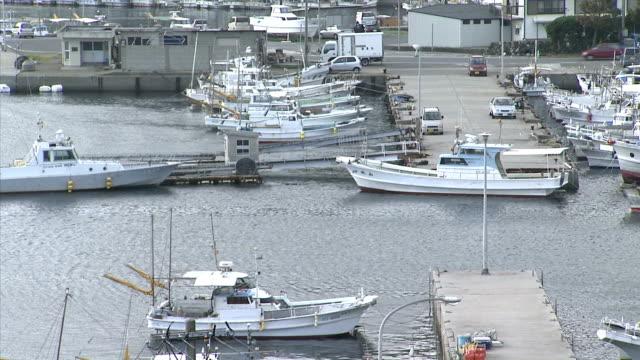 ポート - 水産業点の映像素材/bロール