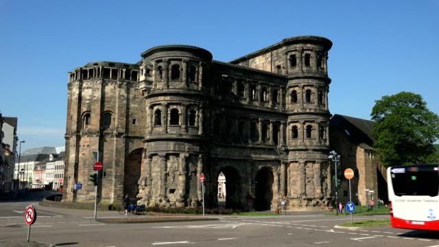Porta Nigra City Gate, Trier, Rhineland-Palatinate, Germany