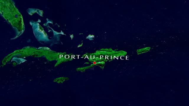 stockvideo's en b-roll-footage met port-au-prince 4k zoom in - haïti