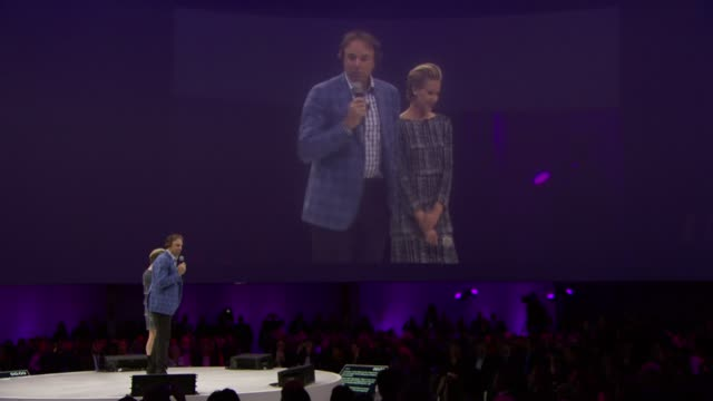 SPEECH Portia De Rossi and Kevin Nealon talks about their show Laugh Lessons they answer the questions whether people are born funny or can be taught...