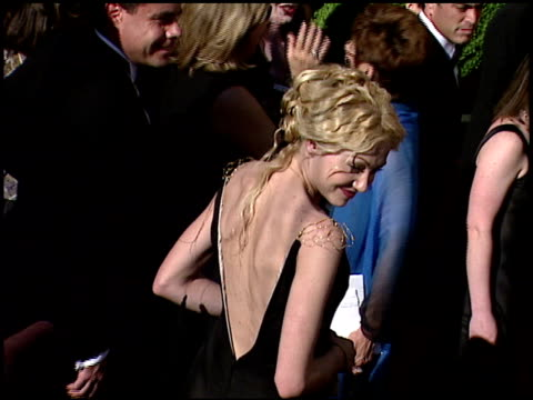 Portia De Rossi at the 1999 Emmy Awards at the Shrine Auditorium in Los Angeles California on September 12 1999