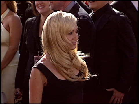 portia de rossi at the 2004 emmy awards arrival at the shrine auditorium in los angeles california on september 19 2004 - portia de rossi stock videos and b-roll footage