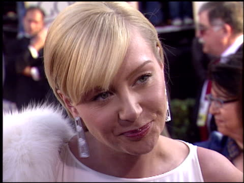 portia de rossi at the 2004 golden globe awards at the beverly hilton in beverly hills california on january 25 2004 - portia de rossi stock videos and b-roll footage