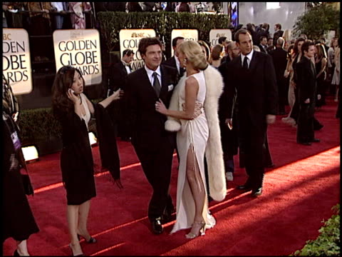 Portia De Rossi at the 2004 Golden Globe Awards at the Beverly Hilton in Beverly Hills California on January 25 2004
