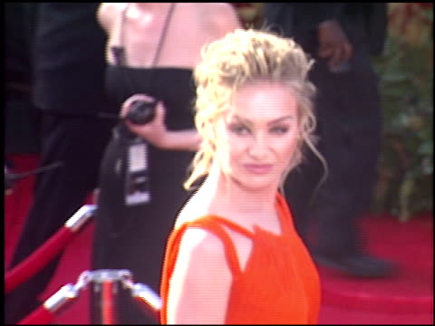 Portia De Rossi at the 2005 Emmy Awards entrances at the Shrine Auditorium in Los Angeles California on September 18 2005