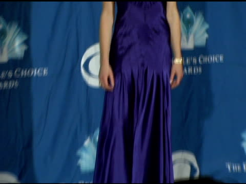 portia de rossi at the 2006 people's choice awards press room at the shrine auditorium in los angeles california on january 10 2006 - portia de rossi stock videos and b-roll footage