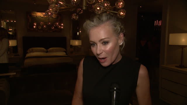 interview portia de rossi on what drew her to rh new york tonight what her favorite rh piece has been over the years what stylistic traits continue... - audio hardware stock videos & royalty-free footage