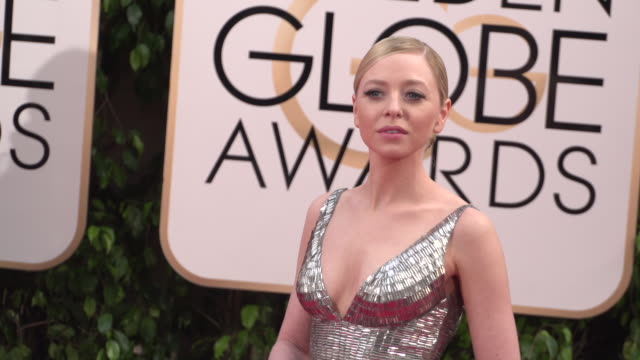 Portia Doubleday at 73rd Annual Golden Globe Awards Arrivals at The Beverly Hilton Hotel on January 10 2016 in Beverly Hills California 4K