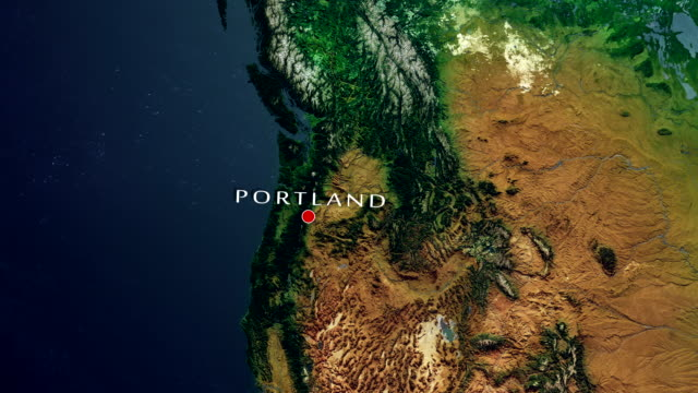 portland 4k zoom in - portland oregon house stock videos & royalty-free footage