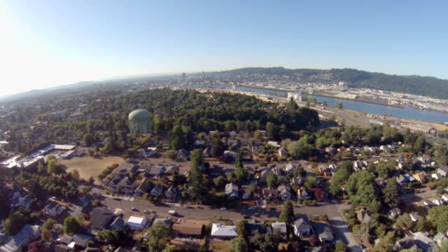 Portland Aerial Neighborhood