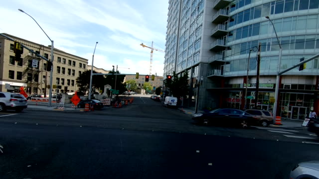 portland arlington time lapse front view oregon driving through fast - portland oregon stock videos & royalty-free footage