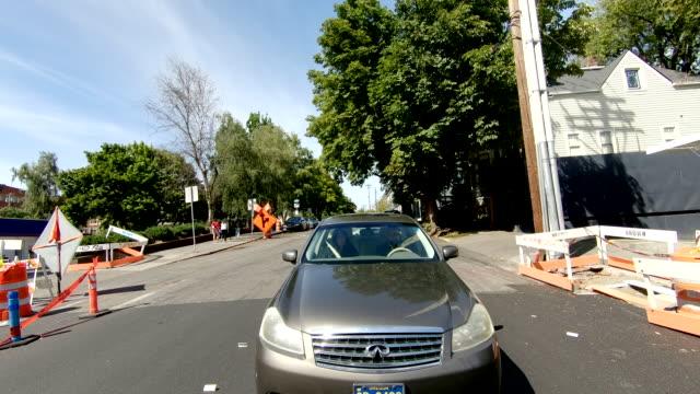 ポートランドアーリントンタイムラプスリアビューオレゴン高速ドライブ - portland oregon点の映像素材/bロール