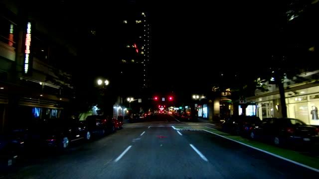 ポートランドシティタイムラプスフロントビューオレゴン高速ドライブ - portland oregon点の映像素材/bロール