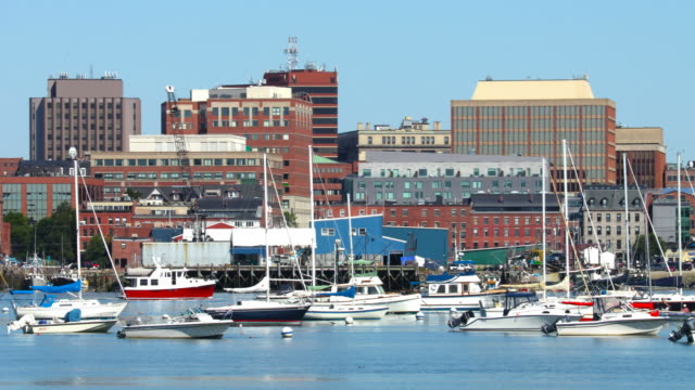 portland, maine - maine stock videos & royalty-free footage