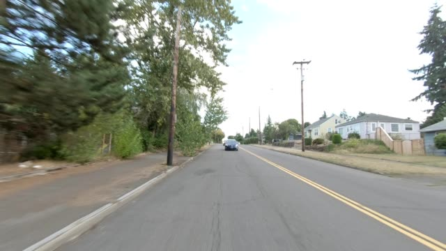 portland northeast i synced series rear view driving process plate - oregon us state stock videos & royalty-free footage