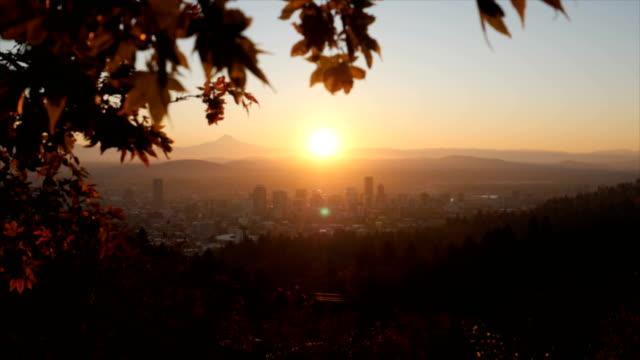 portland, or - dawn stock videos & royalty-free footage