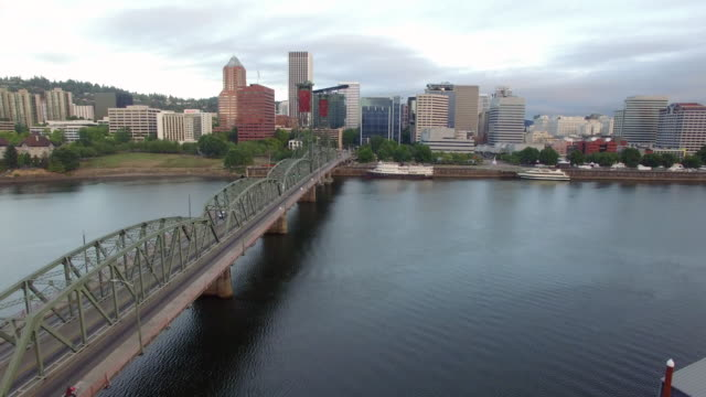 Portland, Oregon Skyline View
