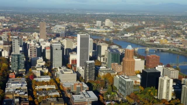Portland Skyline Luftbild 02