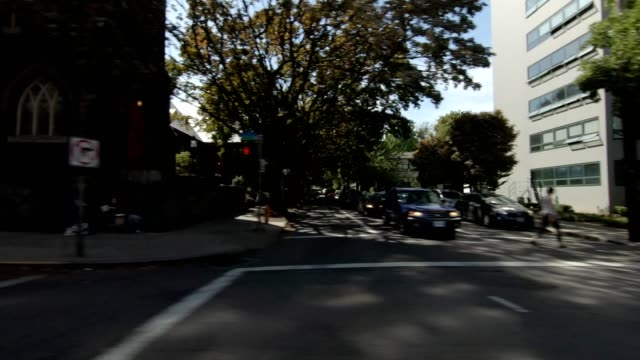 portland suburb xxii synced series right view driving process plate - portland oregon summer stock videos & royalty-free footage