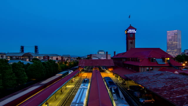 portland union station - st. louis missouri stock videos & royalty-free footage