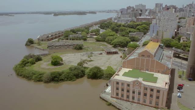 porto alegre - stato di rio grande do sul video stock e b–roll