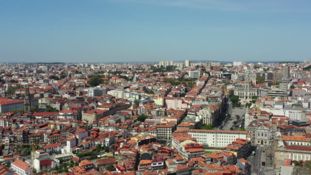 vídeos y material grabado en eventos de stock de porto cityscape / porto, portugal - zona residencial