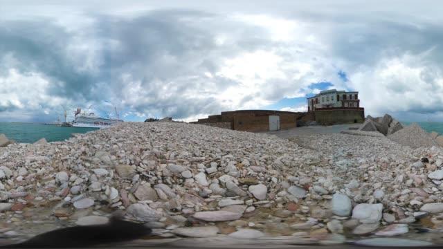 Porto di Ancona - 4K VR 360 Video