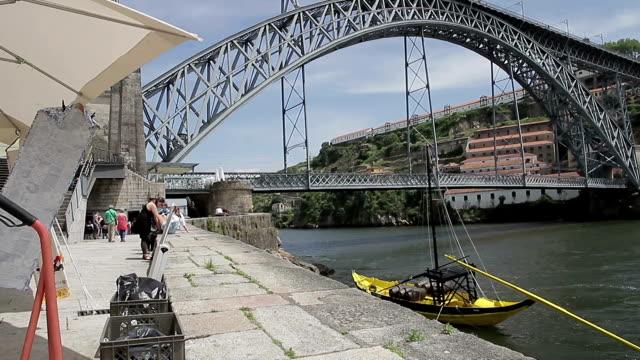 porto-ponte d luis - ponte stock-videos und b-roll-filmmaterial
