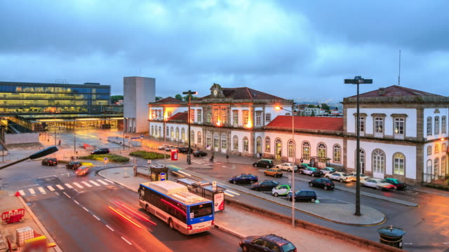 porto train station - portugal stock videos & royalty-free footage