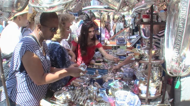 portobello road - souvenir stock videos and b-roll footage