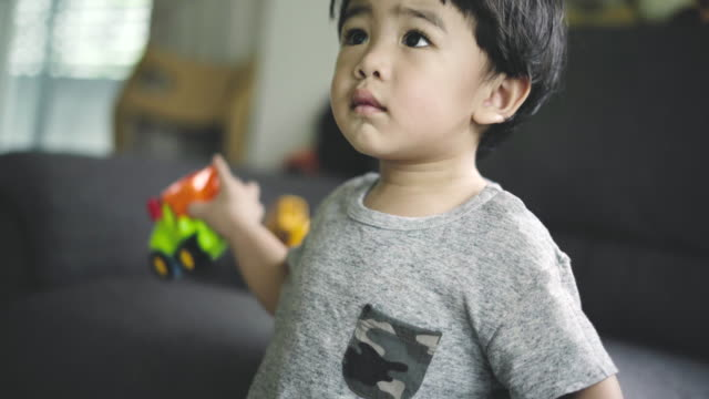 portrait asian happy baby boy - baby boys stock videos and b-roll footage
