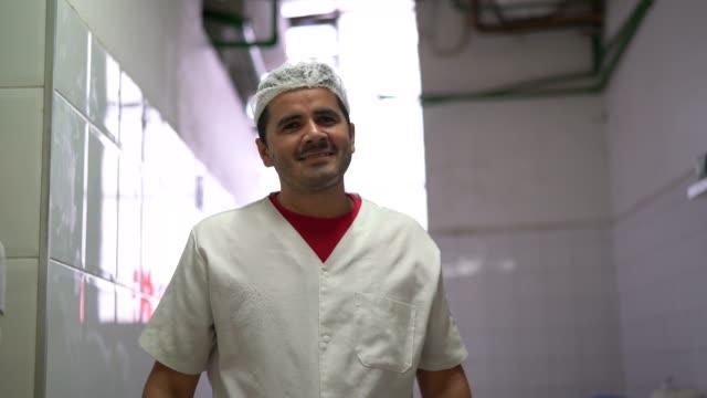 Portrait of a baker