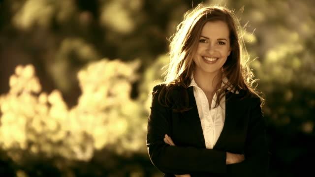 HD: Portrait Of A Beautiful Woman