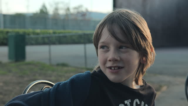 portrait of a boy. - one boy only stock videos & royalty-free footage