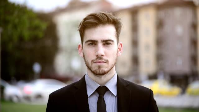 Portrait of a business person