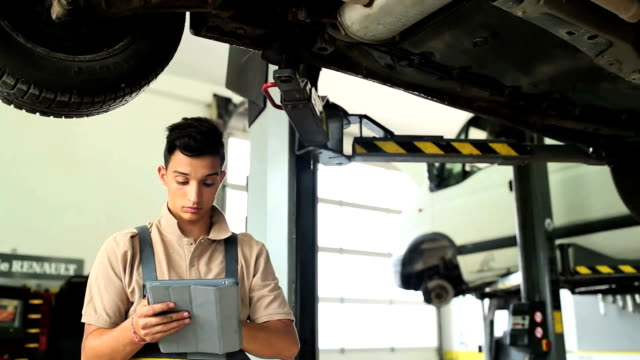 Portrait of a Car Mechanic