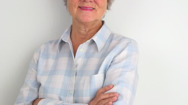 Portrait of a happy grandma