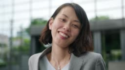 Portrait of a Japanese businesswoman