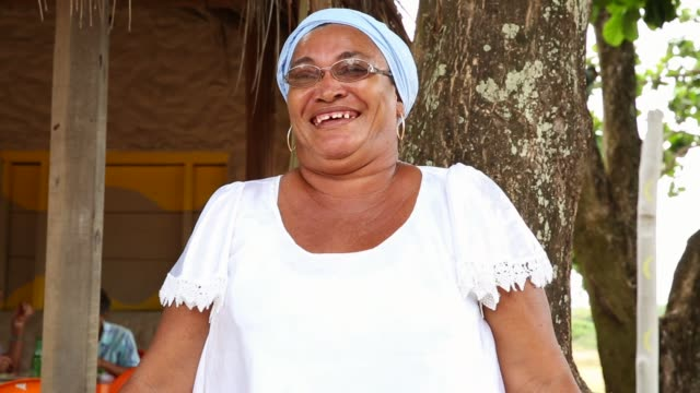 portrait of a latin woman - pardo brazilian stock videos & royalty-free footage