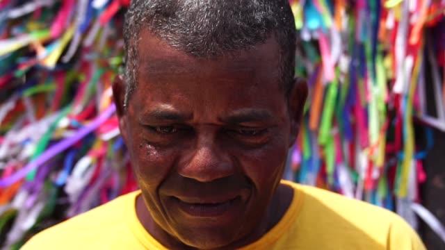 Portrait d'un homme Latino