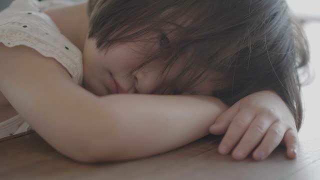 短気な少女の肖像画 - 憂鬱点の映像素材/bロール