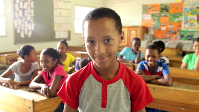 portrait of a school boy - africa stock videos & royalty-free footage