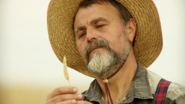 HD: Portrait Of A Senior Farmer