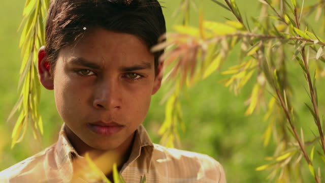 Portrait of a teenage boy, Ballabhgarh, Haryana, India