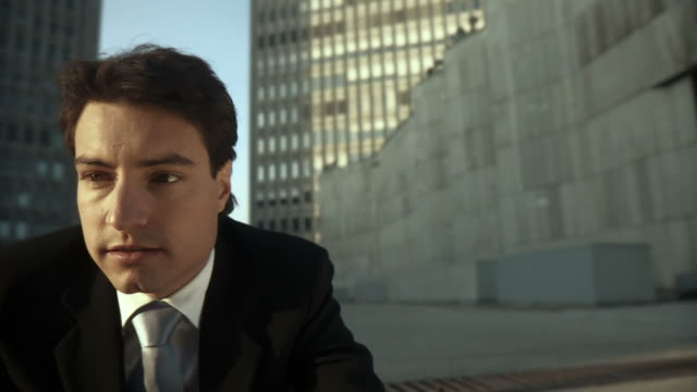 HD DOLLY: Portrait Of A Young Businessman