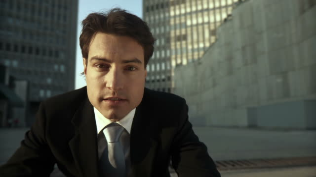 HD: Portrait Of A Young Businessman