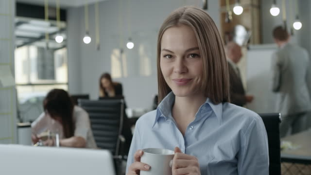 Portrait of an attractive young businesswoman