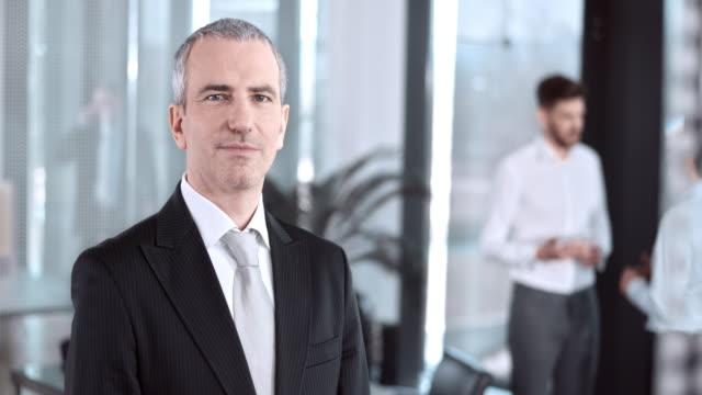 SLO, MO, DS Porträt von ein executive-Meetingraum