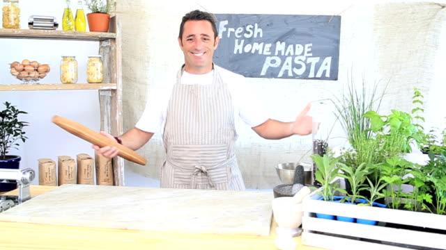 Portrait of an Italian Pasta Maker